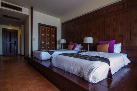 lap of luxury: Thai style Bedroom