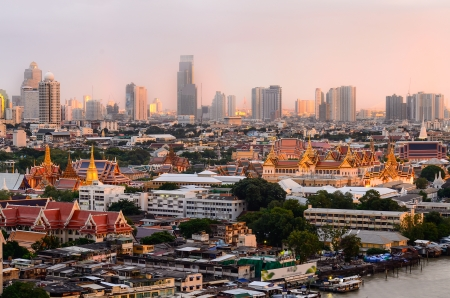 grand palace: Grand Palace in Bangkok Stock Photo