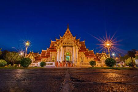 bangkok city: Wat Benjamabophit in Bangkok