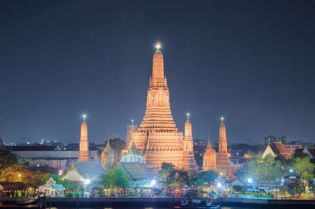 Wat Arun  is a Buddhist temple  in the Bangkok Yai district of Bangkok, Thailand photo