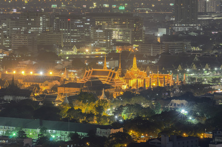 bird s eye: Wat Phra Kaew  bird s eye view