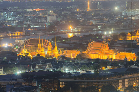 bird s eye: Wat Pho bird s eye view