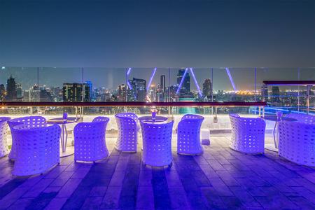 Rooftop Restaurant ,Bangkok ,Thailand