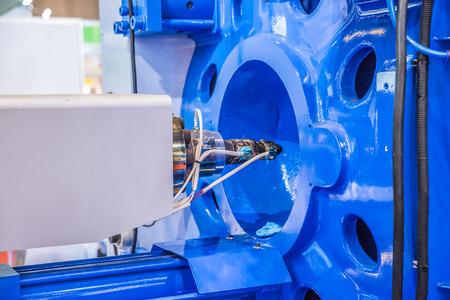siderurgia: Componentes de los tornillos de metal de la máquina de moldeo por inyección