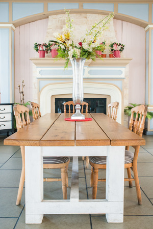 Beautiful classical country style dining room