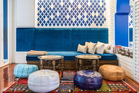 Marokkanischen Stil Wohnzimmer Standard-Bild - 30692918