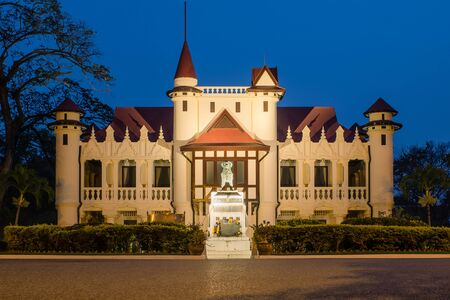nakhon pathom: Sanam Chandra Palace,Nakhon pathom, Thailand Editorial