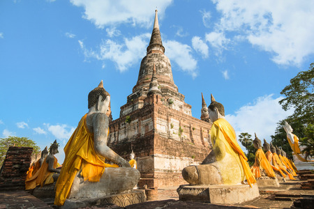 chaimongkol: Wat yai chaimongkol in Ayutthaya historical park, Ayutthaya, Thailand
