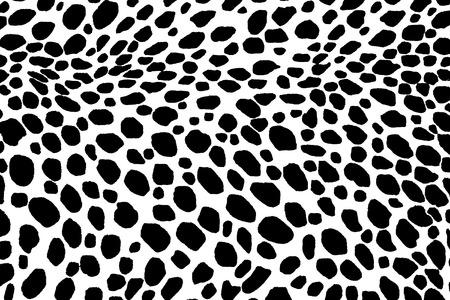 Dalmatian: Dalmatian dog seamless pattern. Or cow skin texture.