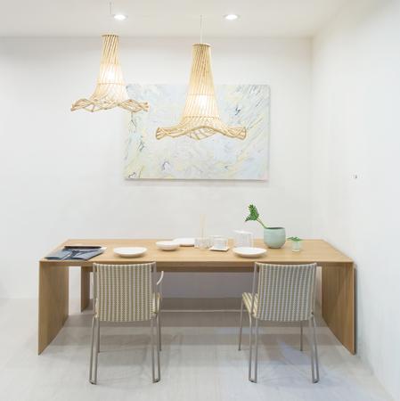 Klasická jídelna v domě Reklamní fotografie
