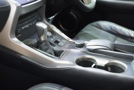 Automatik-Getriebe Gangschaltung in Auto