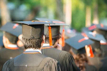 persone nere: indietro di laureati in avvio