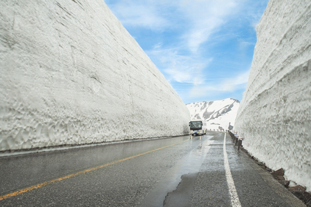 Tateyama Kurobe Alpine Route, Toyama Prefecture, Japan
