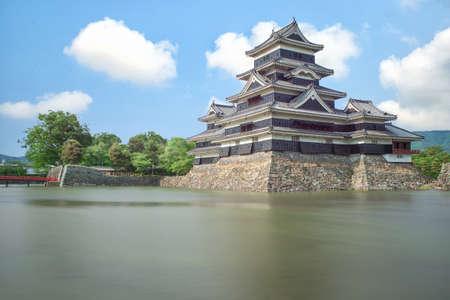 matsumoto: Matsumoto castle in Matsumoto city,Nagono, Japan