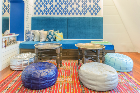 living style: Moroccan Style living room