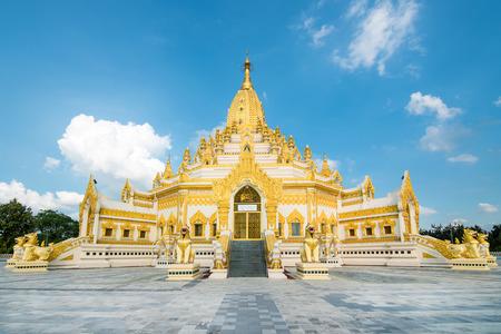 relic: Swe Taw Myat, Buddha Tooth Relic Pagoda (Yangon, Myanmar) Stock Photo