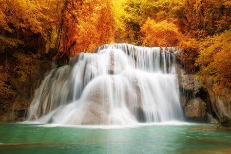 kanchanaburi: Deep forest Waterfall in Kanchanaburi