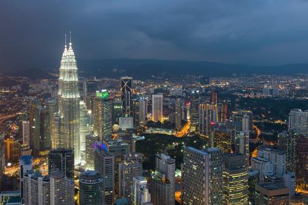kuala lumpur city: Kuala Lumpur, Malaysia city skyline.