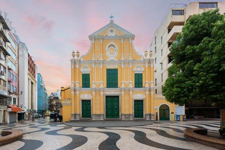 St. Dominic's Church, Church in the middle of Senado Square, Macau, China.