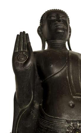 hand of steel buddha Stock Photo - 16172734