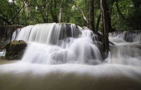 water fall in kanchanaburi National park