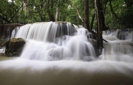 water fall in kanchanaburi National park