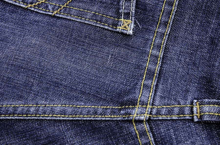 line on denim jean