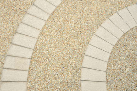 gravel floor with curve line idea for background