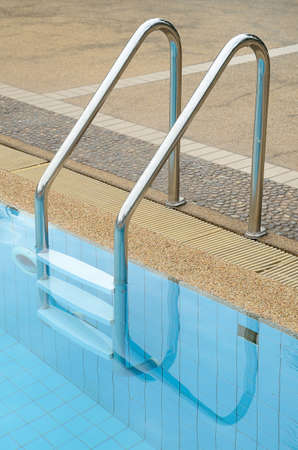 Swimming Pool with stainless stair