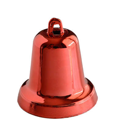 red bell isolate on white background