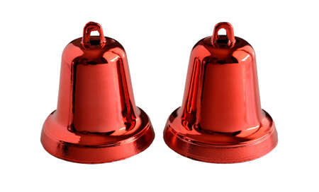 red bell isolate on white