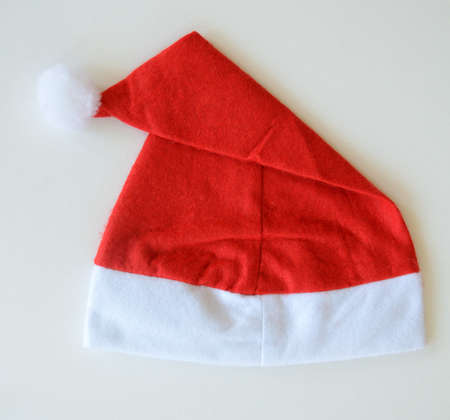 santa claus hat on white background
