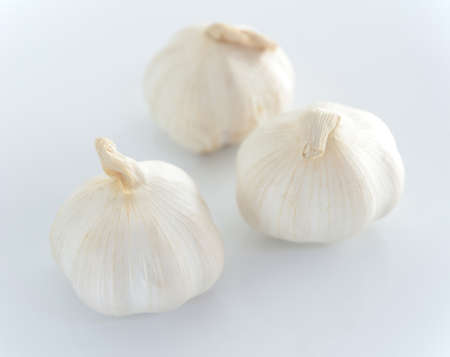 reduces: garlic can Reduces blood pressure down. Stock Photo
