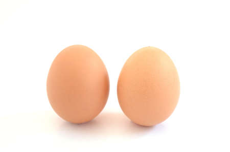 eggs on white