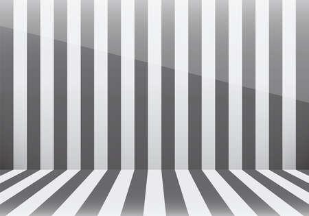 grey: stripe room (grey) Illustration