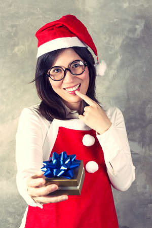 The act of giving gifts on christmas