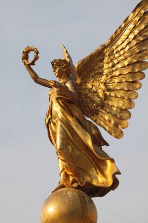 angel de la independencia: estatua de oro, ángel estatua de oro