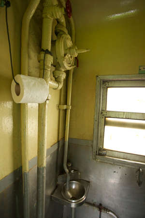 tissue paper, thoughtless tissue paper roll hanging with pipe in toilet photo