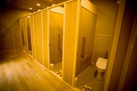 日本のトイレは、天龍寺京都市で公共の日本のトイレ