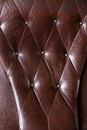 padding: Vintage padding, Texture of vintage padding cushion. Stock Photo