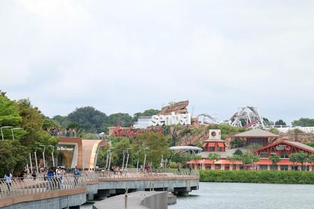 SINGAPORE - JULY 9, 2017 : Sentosa Island. Editorial