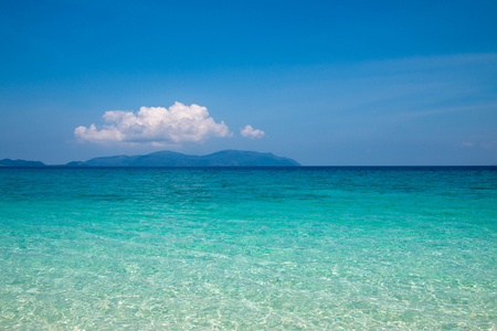 Bruer island in Myanmar, Beautiful coral in the sea. Stock Photo - 98861119