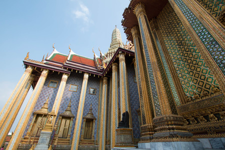 Phra Mondhop at Wat Phra Kaew, Bangkok, Thailand. Stock Photo - 99378778