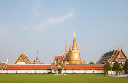 Wat Phra Kaew, Bangkok, Thailand. Stock Photo