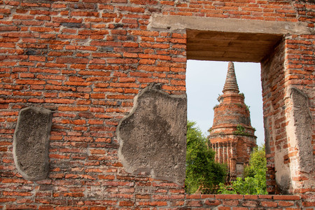 Wat Ratcha Burana Temple in historic site of Ayutthaya province, Thailand. Stock Photo