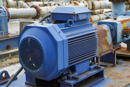 cupper: Factory equipment  motor industrial Stock Photo