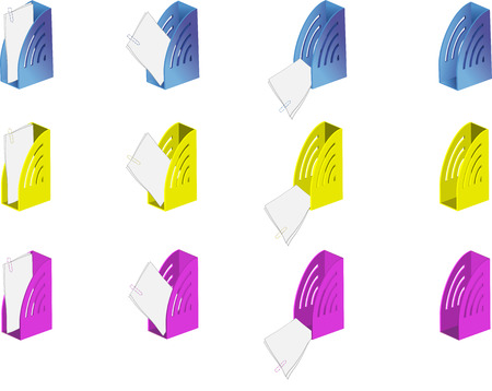espacio de trabajo: Esta iconos pueden ser utilizados como iconos de trabajo en Windows, los programas de ordenador o p�ginas web. Vectores