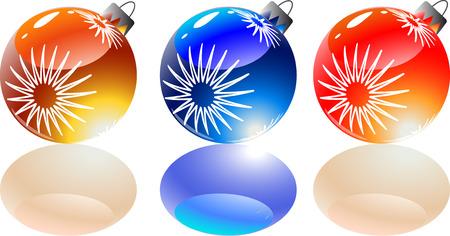 Color vector �mbito �rbol juguetes con sombras de color.