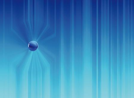 Blue background composition. Vector illustration Illustration