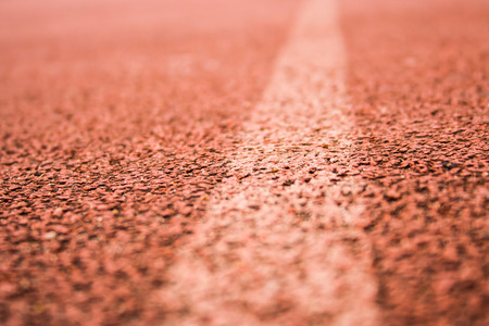 orange lane with white line background photo